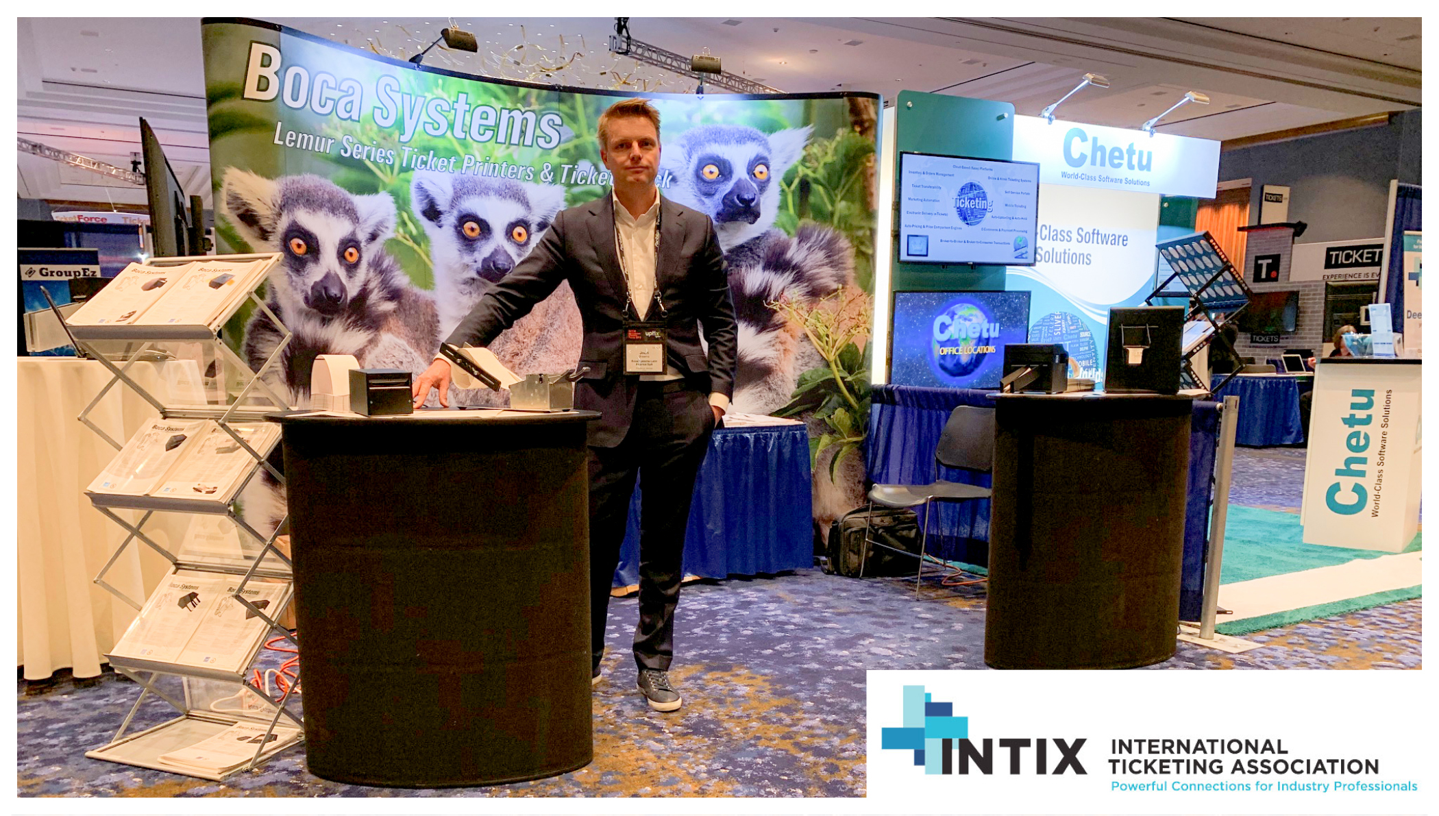 Meet us at the Intix Exhibition in Texas!