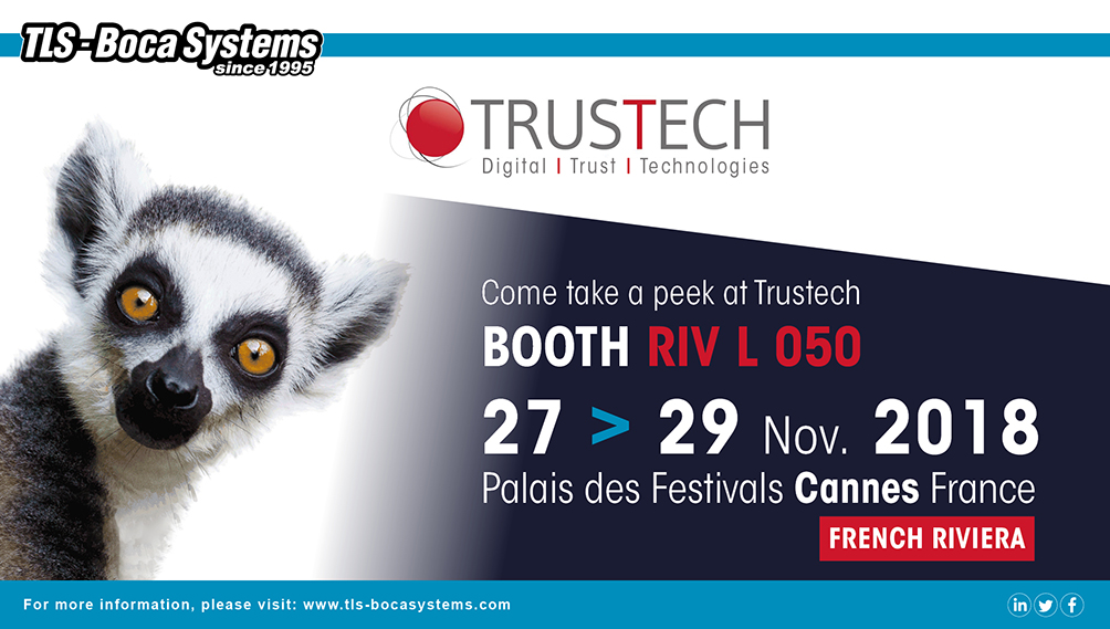 Meet us at Trustech!