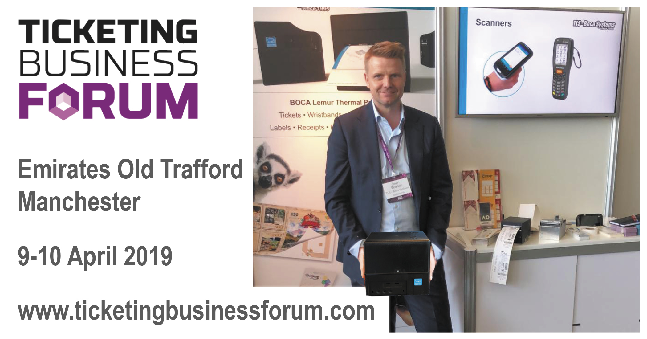 Meet us at the Ticketing Business Forum!