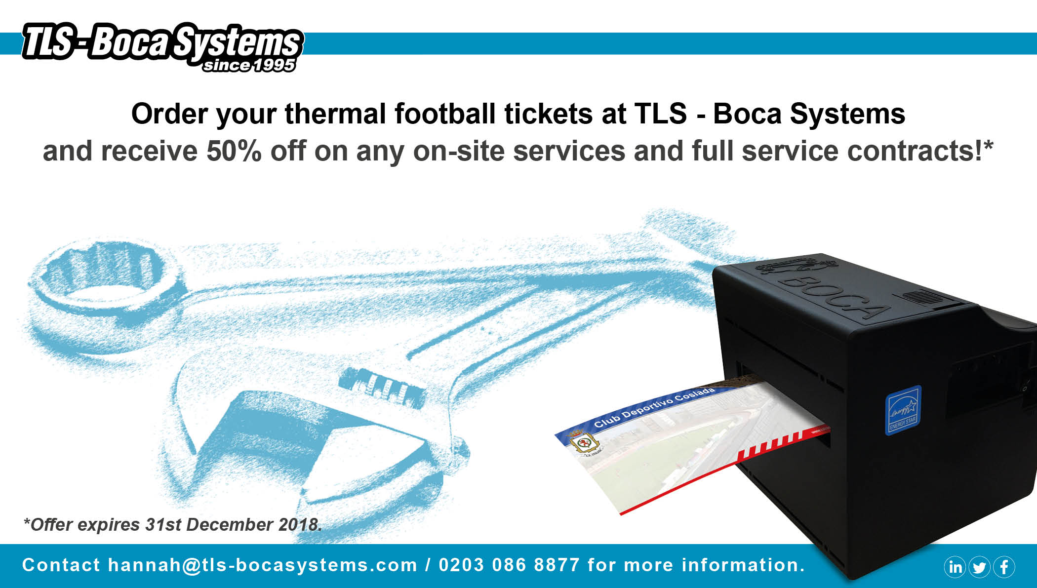 Thermal Football Tickets
