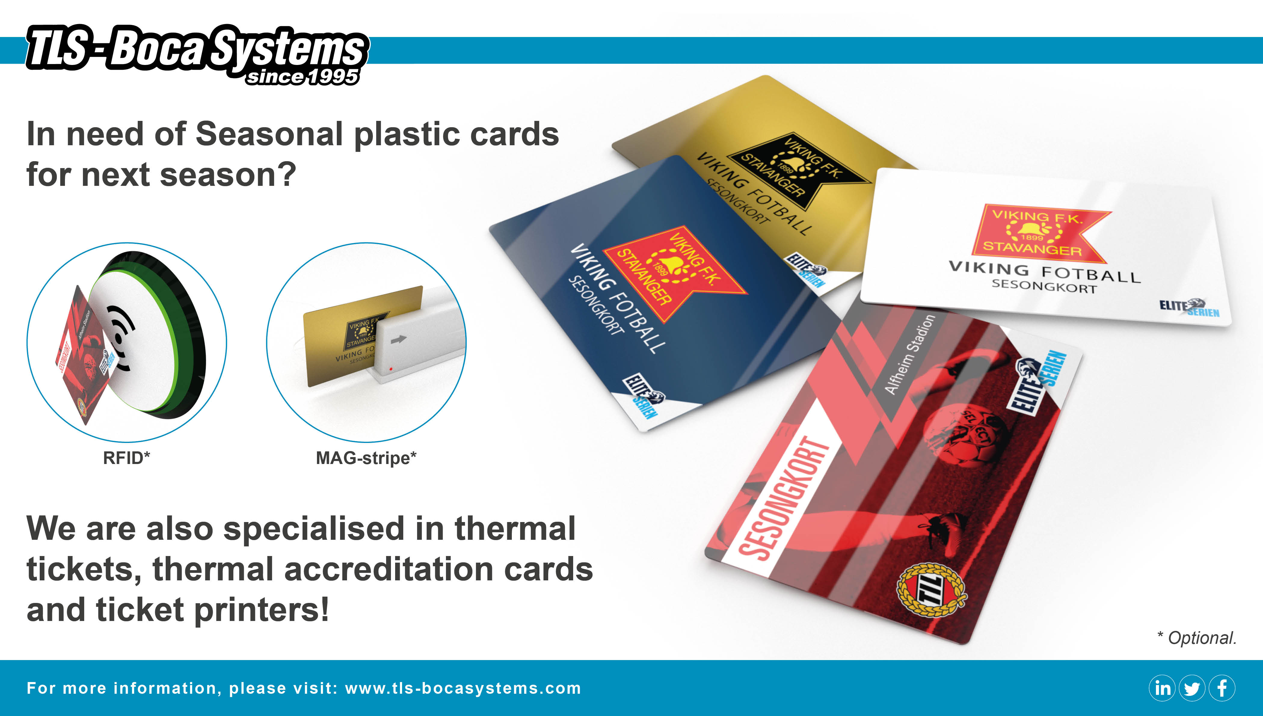 Seasonal Plastic Cards