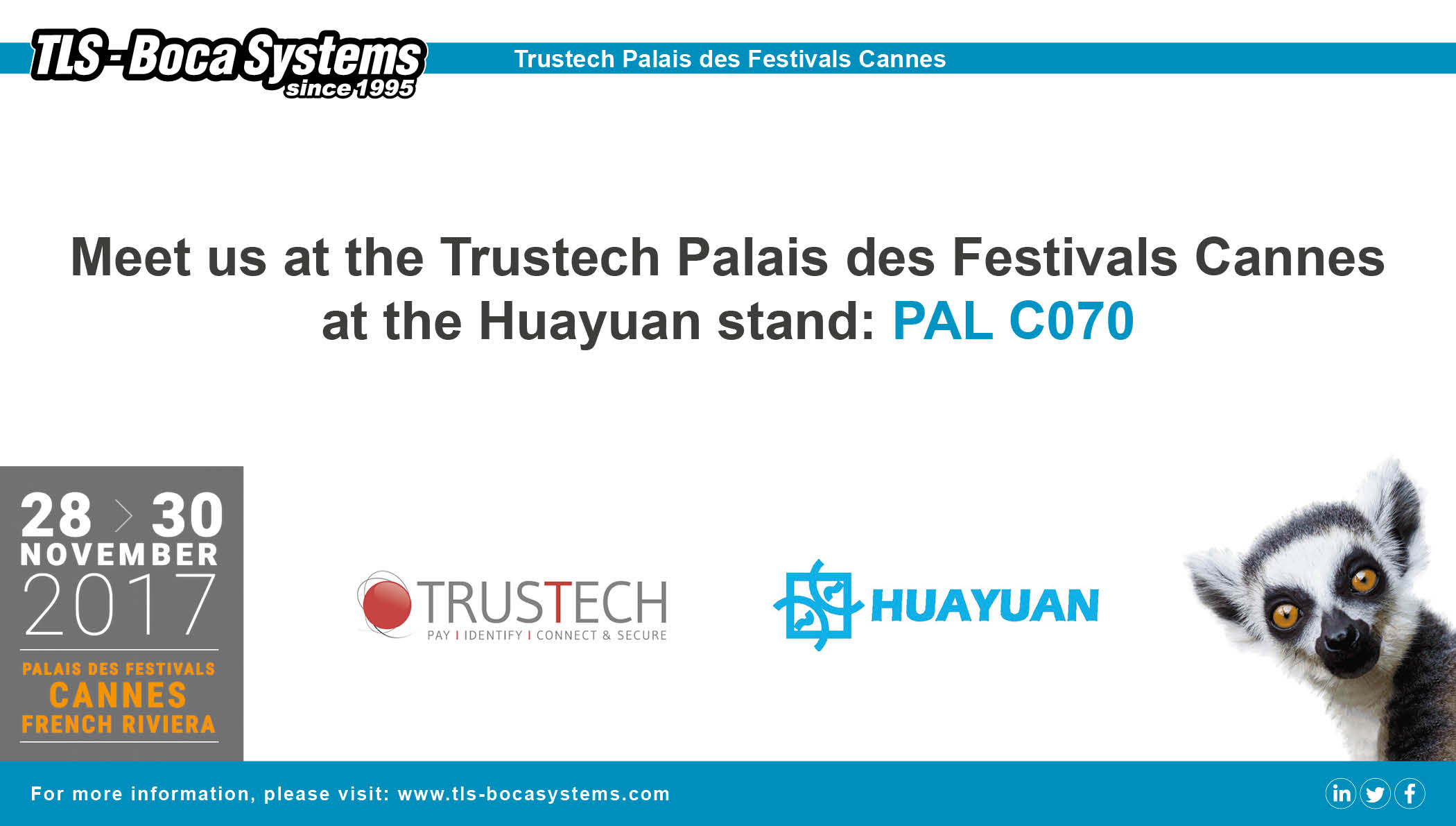 We are at Trustech!