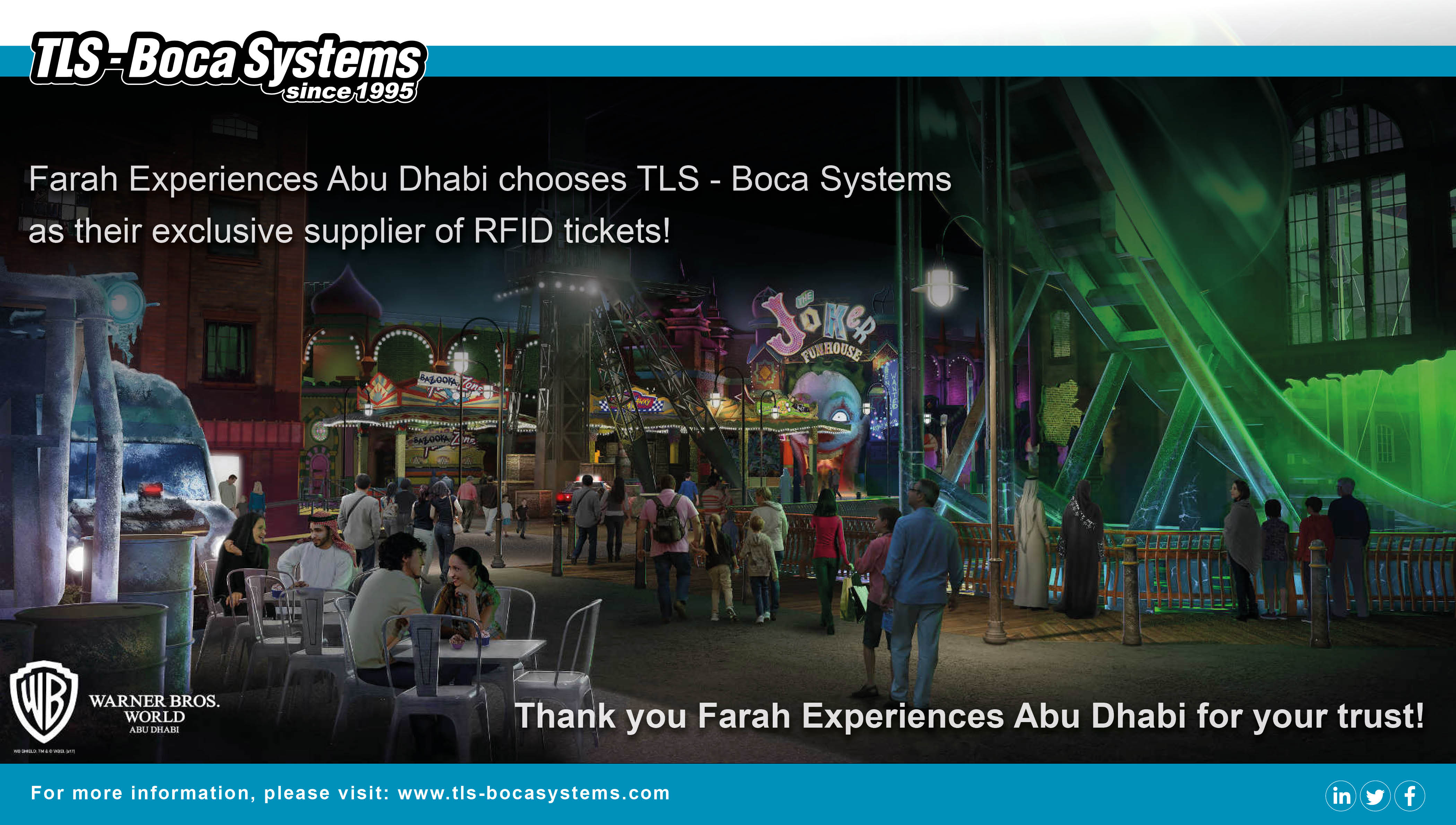 NOW SUPPLYING: FARAH EXPERIENCES ABU DHABI
