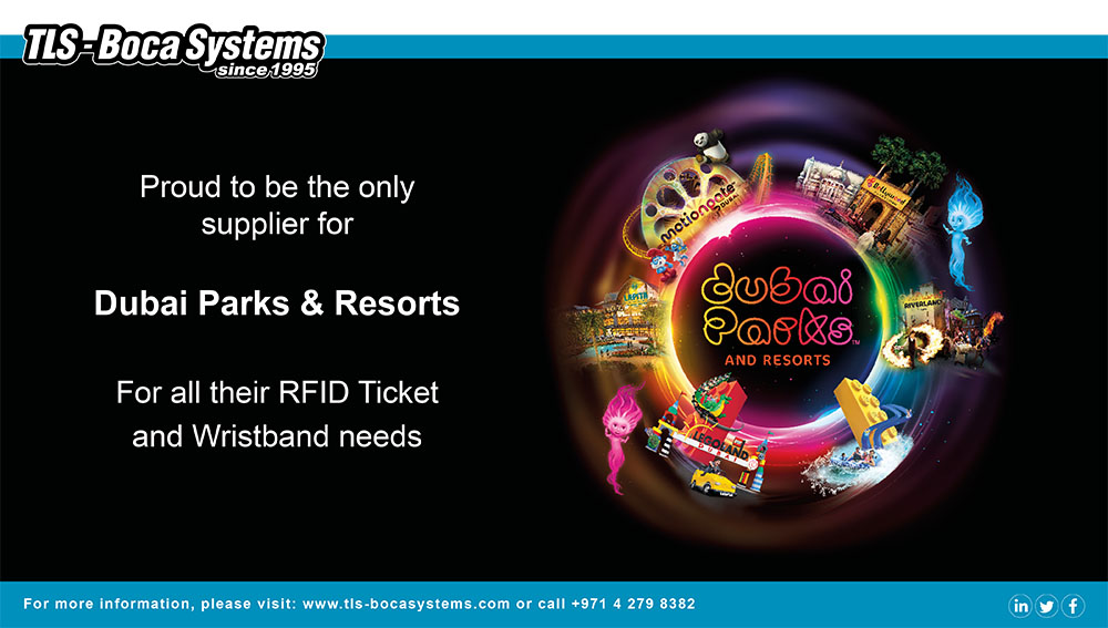 Now supplying: RFID Tickets to Dubai Parks