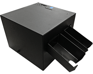 2 path BOCA printer with internal storage