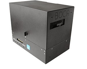BOCA printer with magnetic encoding