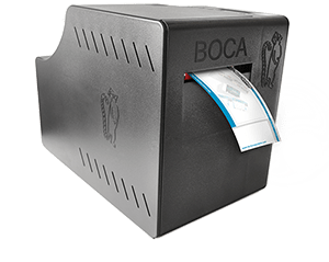 BOCA printer with internal storage